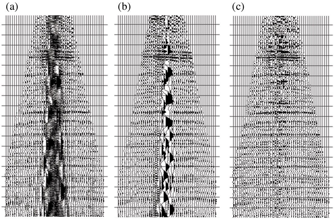 Attacking localized high amplitude noise in seismic data – A