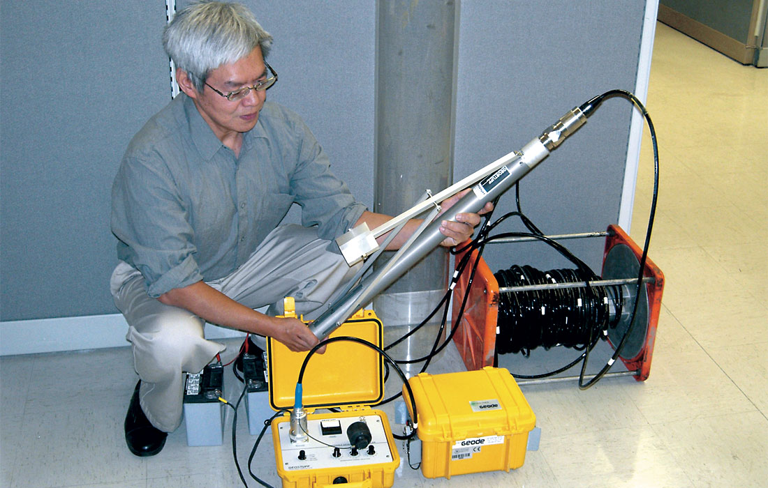 New Seismic And Other Geophysical Equipment At The