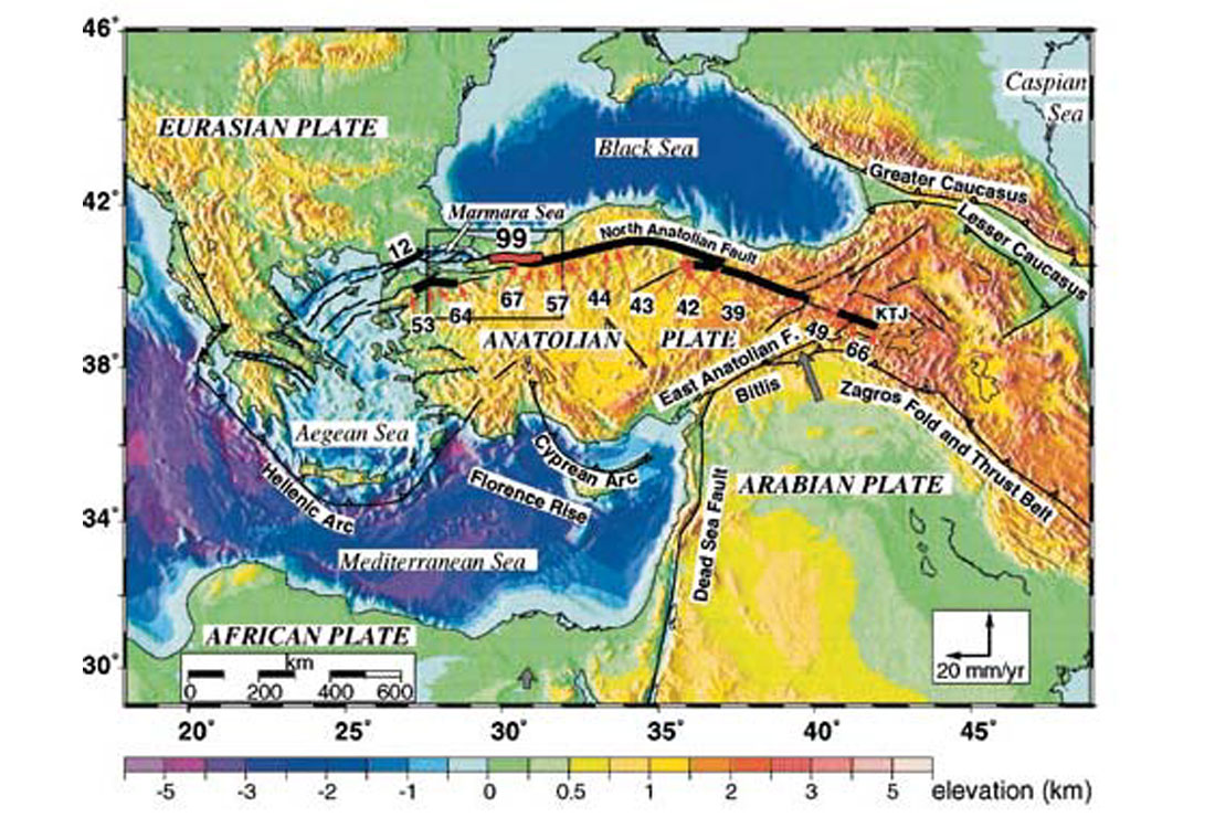 Izmit  Turkey Earthquake August 1999  CSEG RECORDER