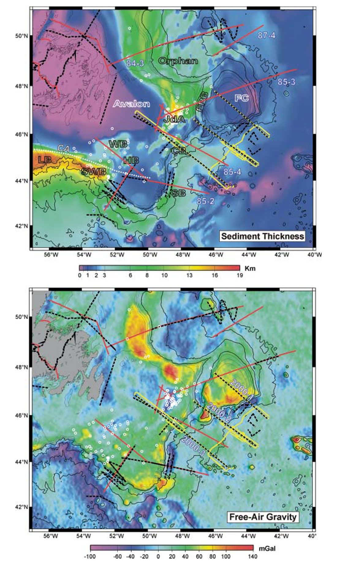Tectonic Evolution of the East Coast of Canada  CSEG RECORDER