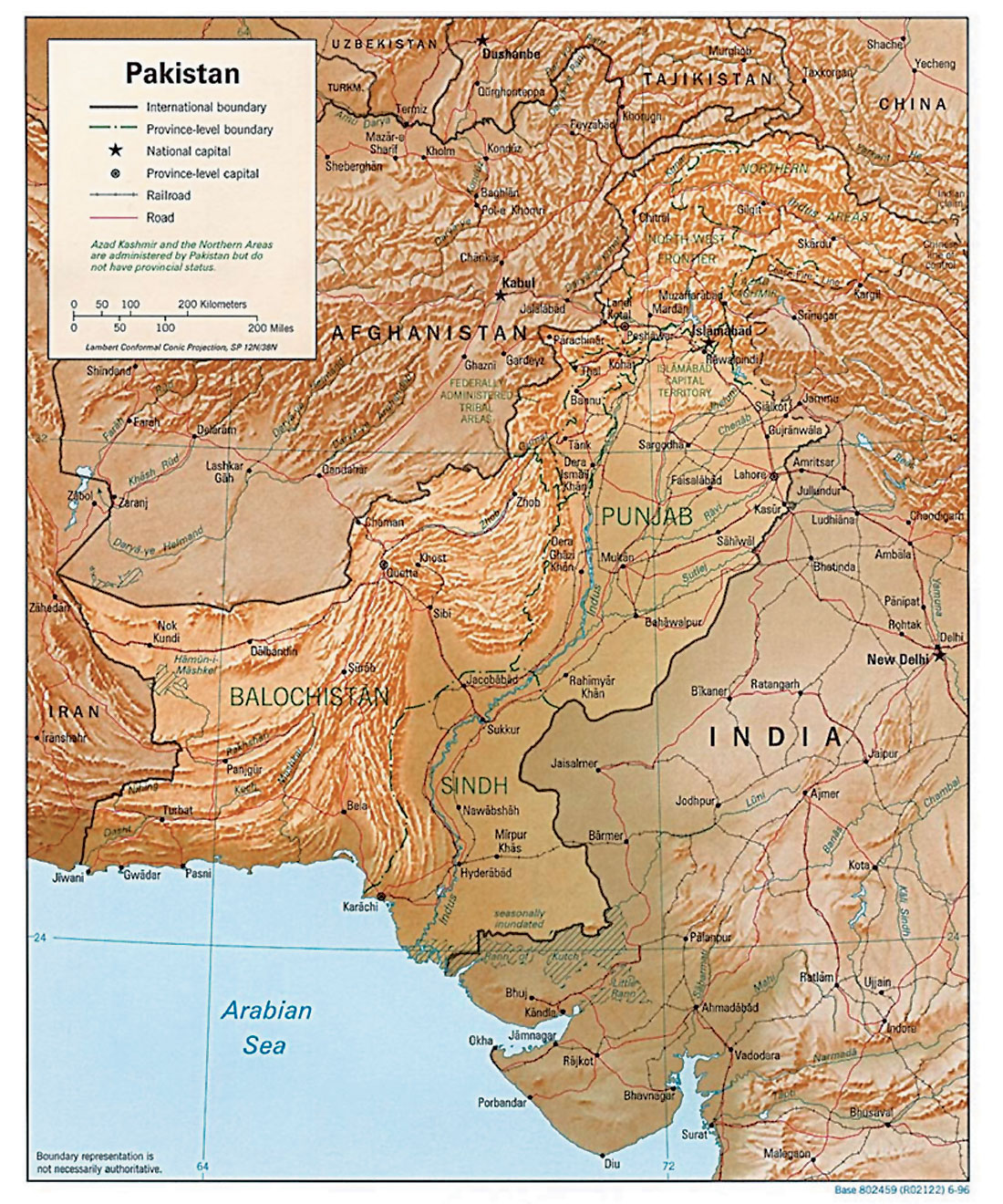 Kohat Plateau With Reference To Himalayan Tectonic General Study - Kohat map