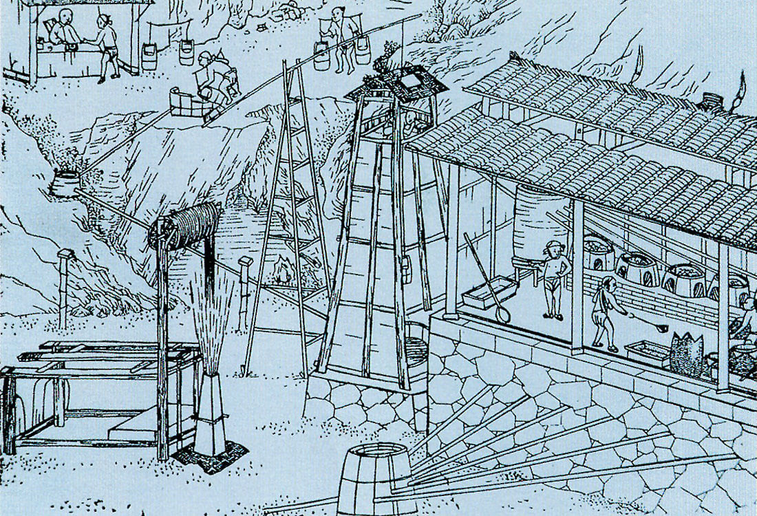 Ancient Chinese Drilling Cseg Recorder