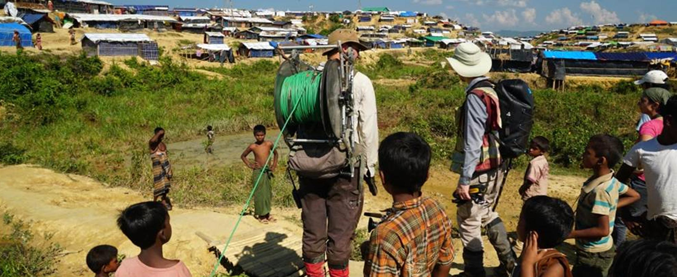 Abstract: Emergency Response Groundwater Exploration at Rohingya Refugee Camps in Bangladesh