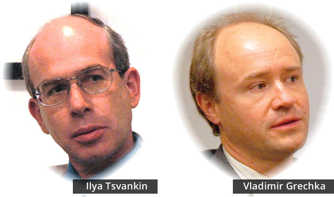 Ilya Tsvankin and Vladimir Grechka
