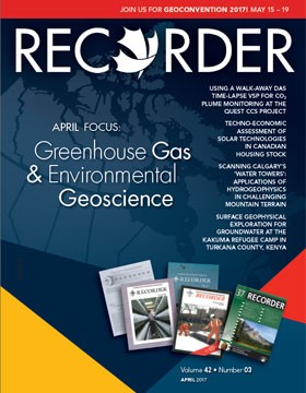 April 2017 Edition Cseg Recorder